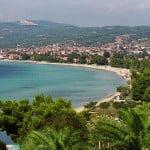 Die Bucht von Nikiti