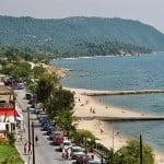 Die Bucht von Ouranoupolis