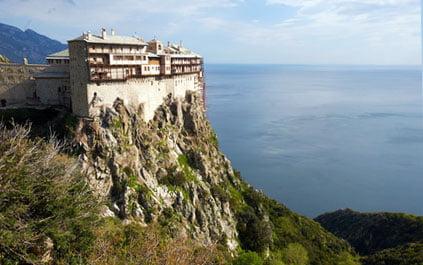 Sehenswürdigkeiten Chalkidiki Berg Athos