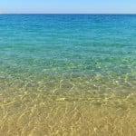 kristallklares Wasser Kalamitsi